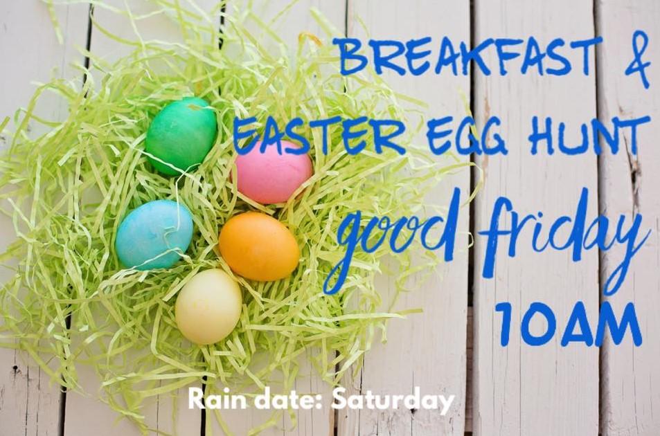 Easter Egg Hunt and Breakfast 2020