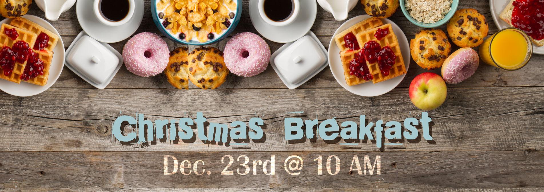 Christmas breakfast 2018