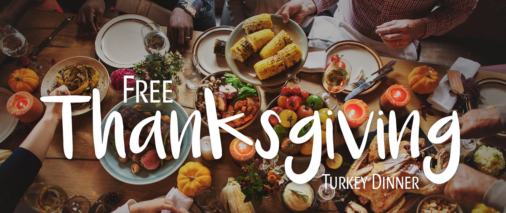 Free Thanksgiving Turkey Dinner 2019